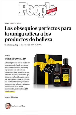 Press Clipping - People En Español Magazine